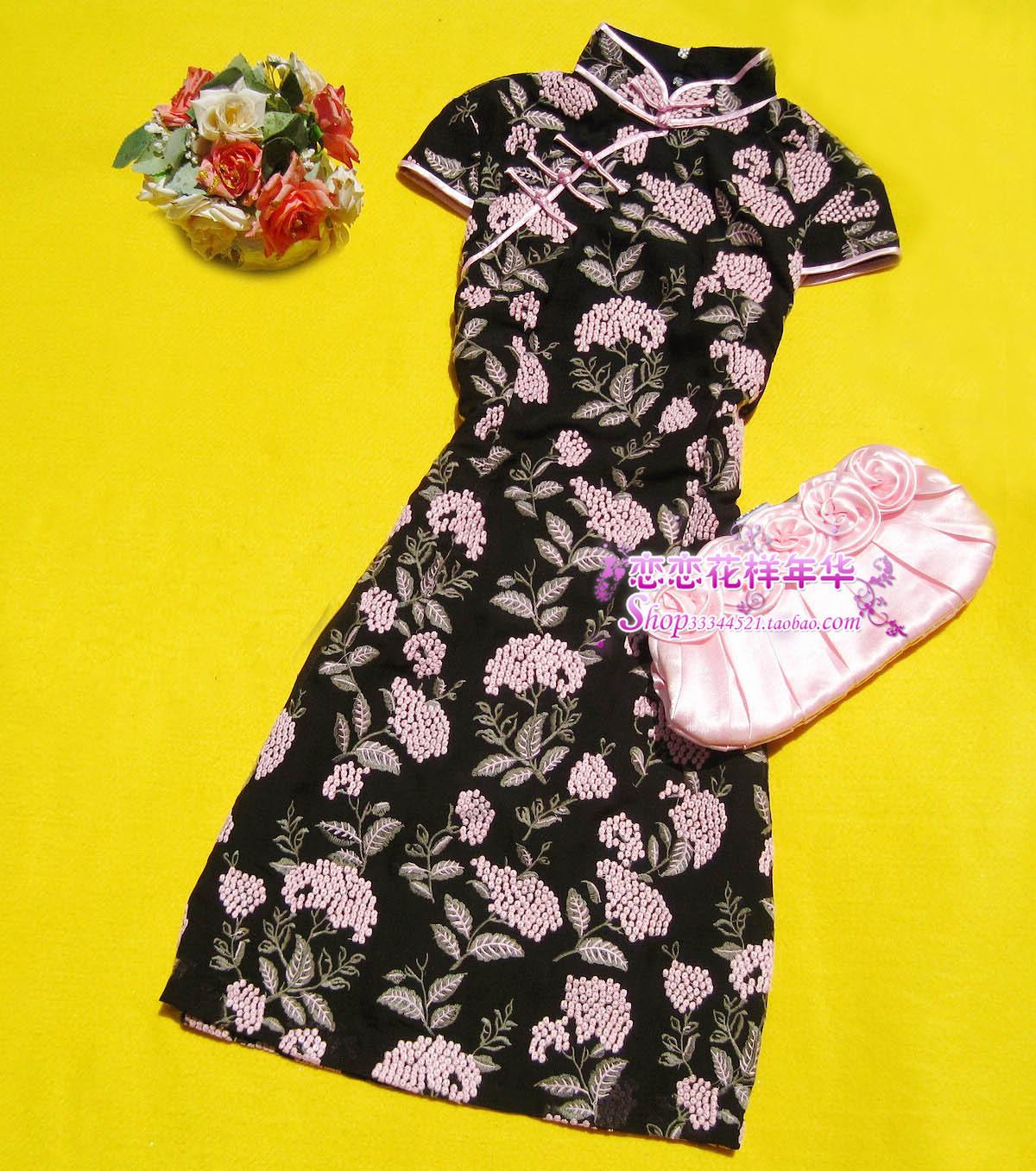 Платье Ципао   2011 1A-003D