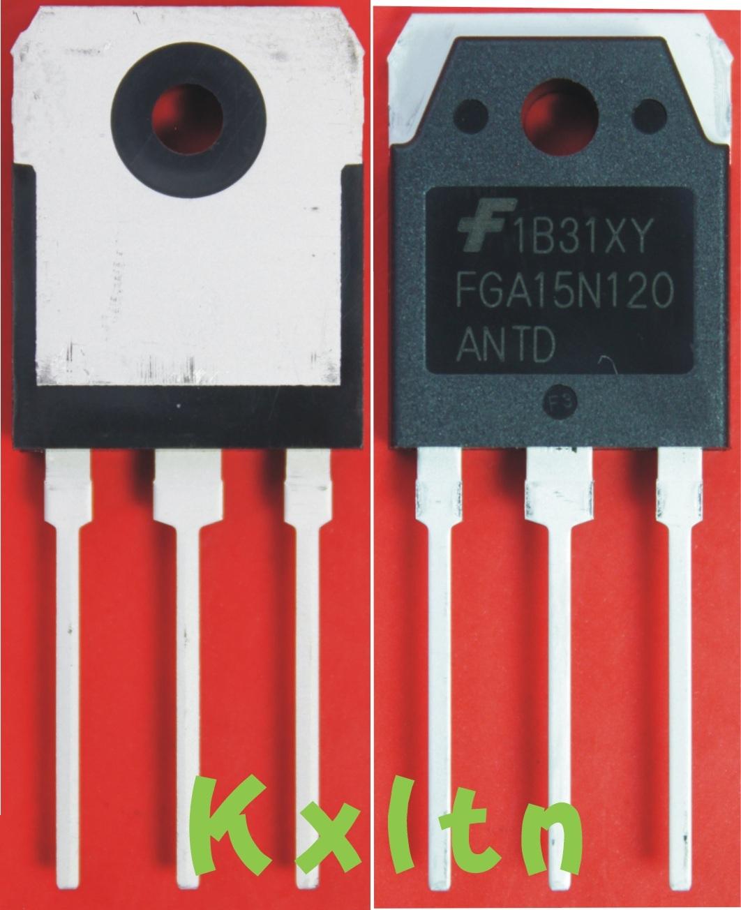 Комплектующие для кухонных электроприборов Fairchild  IGBT FGA25N120