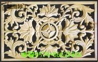 厂家直销 欧式木花 欧式雕花隔断 东阳木雕花板 欧式浮雕玄关隔断