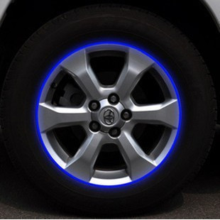 Reflective wheel automotive wheel hub stickers stickers wheel stickers 10-19 inch optional 16
