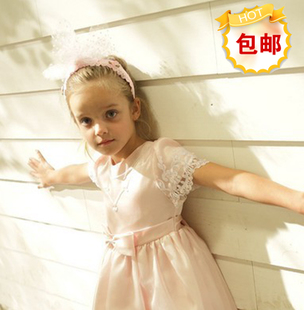popular summer childrens dresses, flower girl dress girls dress skirt