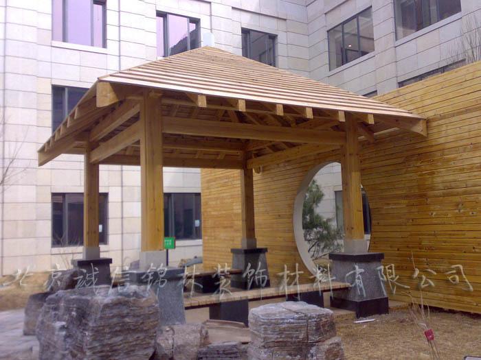 беседка «Целостности цзиньлинь» поверхность древесины/деревянные беседки