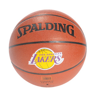 Sibaiding official flagship store folds of   basketball  lakers badge PU indoor and outdoor throwing 74-094