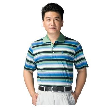 Paradigm clothing 2014 new Golf mercerized cotton short-sleeved T-shirt / T-shirt fashion Coconut Island Morning