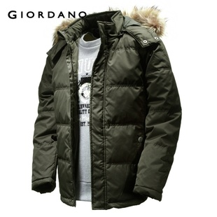 2012 Giordano jacket men's Matt detachable Cap Teflon down jacket 01071621