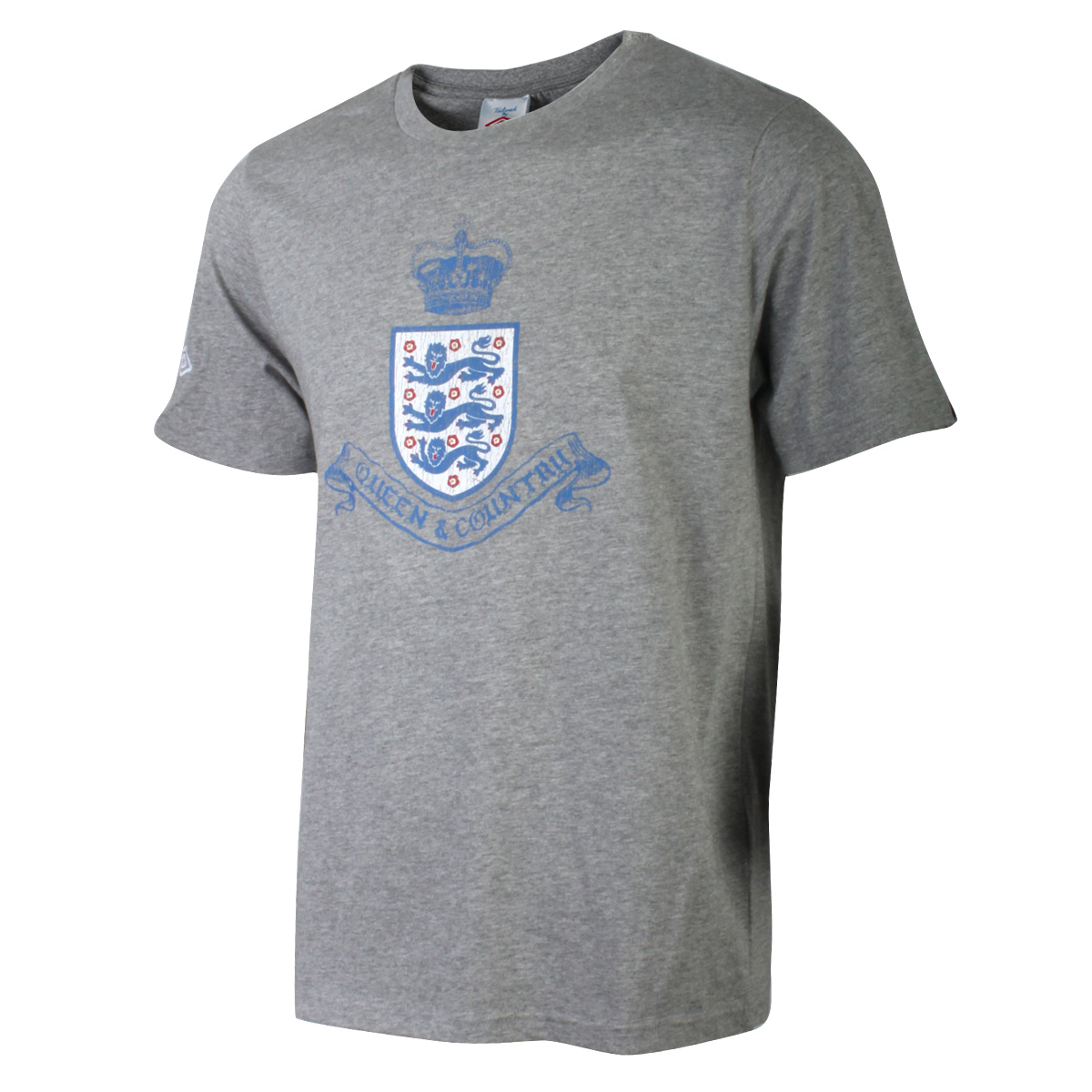 Спортивная футболка UMBRO 113103065 Воротник-стойка Короткие рукава ( ≧35cm ) 100 Эмблемы