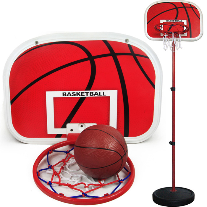 Classic indoor shooting game children toy basketball hoop rise-home baby King child basketball stand
