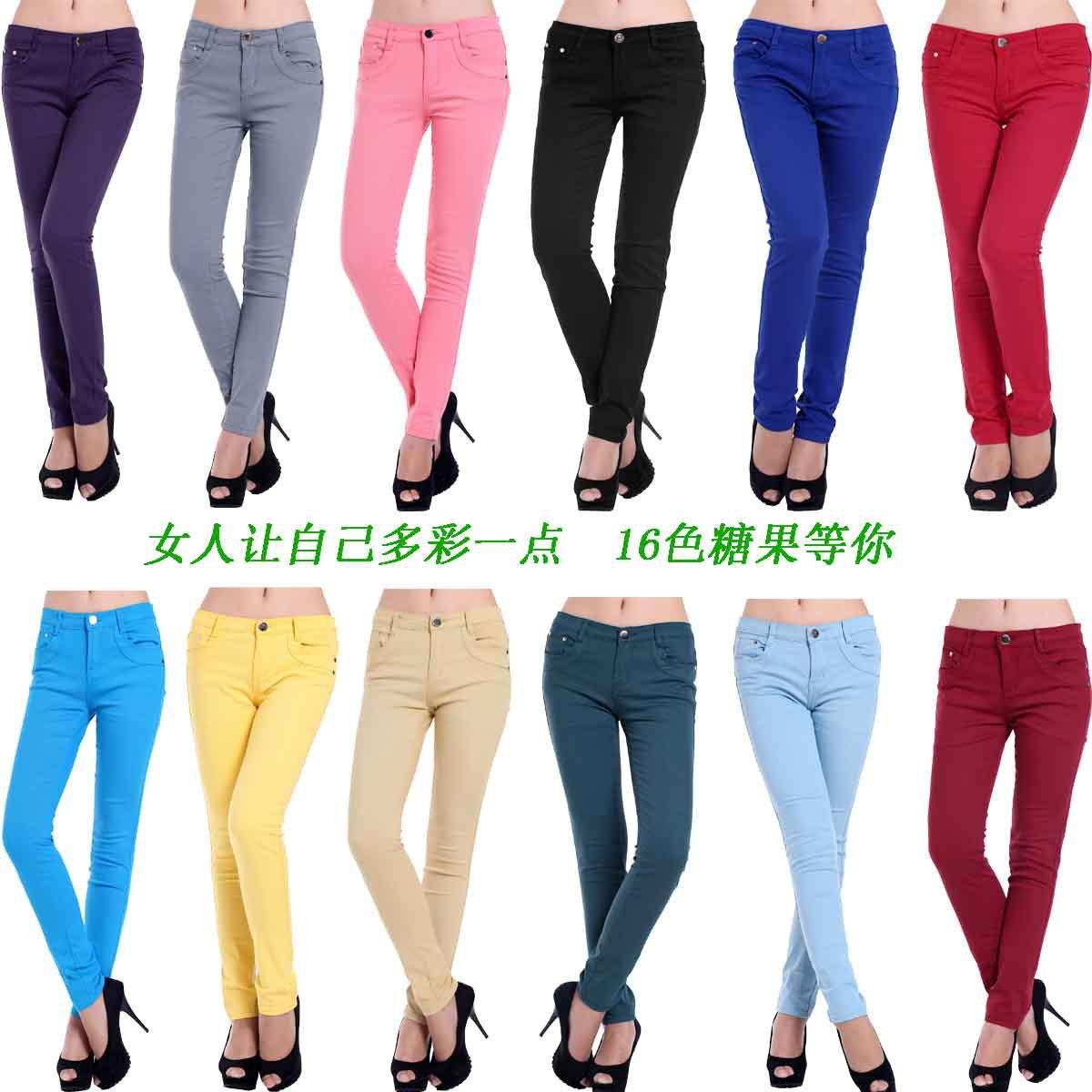 Женские брюки Длинные брюки Узкие брюки-карандаши Гламурный стиль Другое Пуговицы
