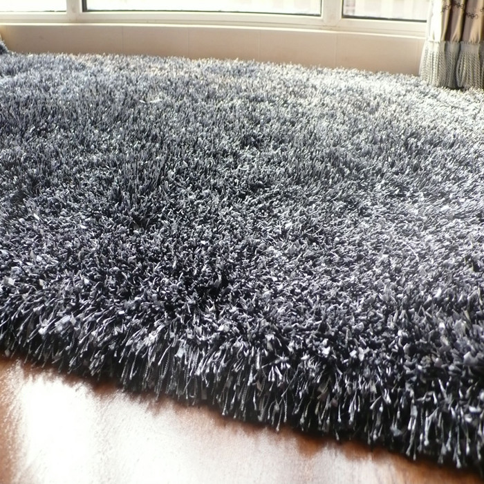Xin Mei carpet fashion living room coffee table bedroom carpet cleaning-free Super thick bright 5 cm small yarn