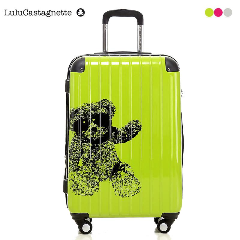 法国lulu顽皮熊拉杆箱 万向轮旅行箱 托运箱 登机箱 婚箱 行李箱