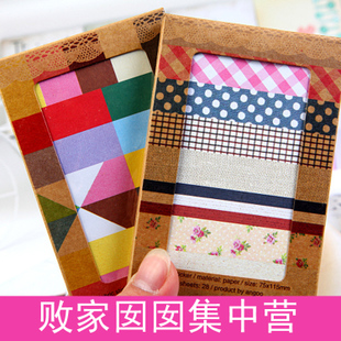 [Ruin  family] Korea fashion creative DIY stickers/decoration stickers boxed 28 piece Ab22