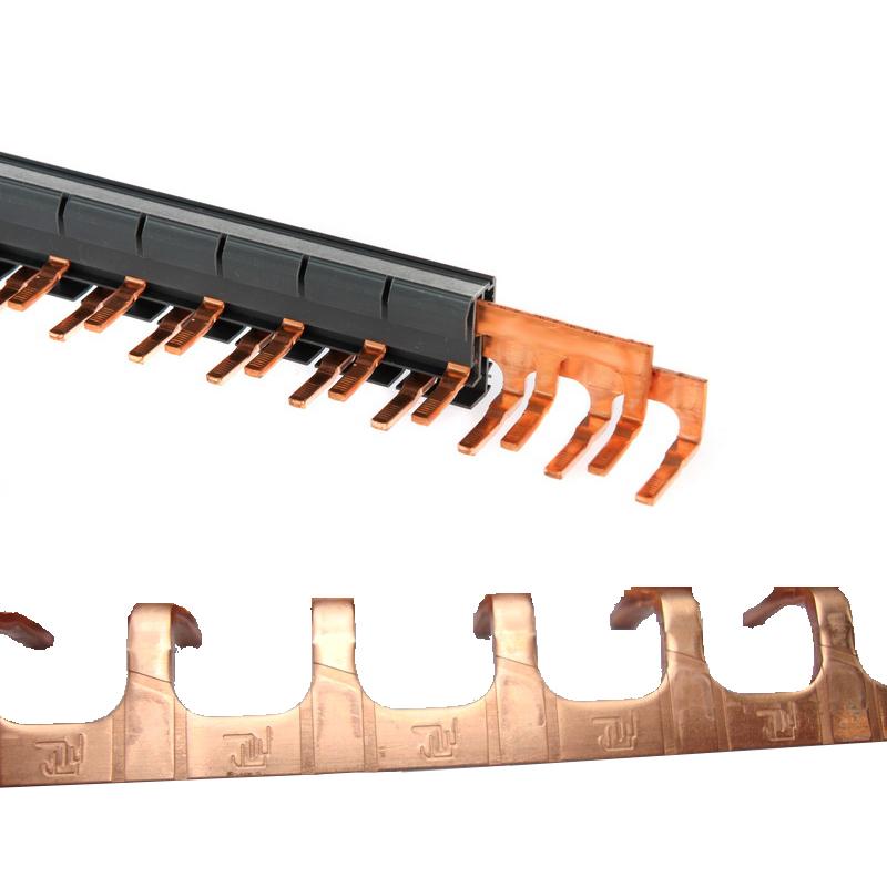 施耐德电气断路器汇流排 法国原装进口 DPN双进双出 13回连接铜排