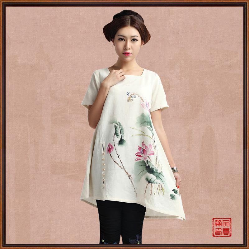 Блузка в китайском национальном стиле Product Tang Zhai 18057