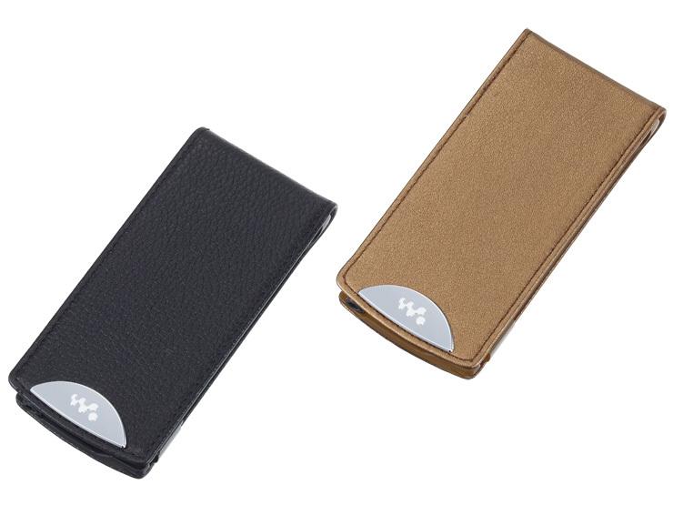 чехол для плеера Пять алмаза кожаный чехол Sony оригинальные CKL-nwa840 (A840/a850)