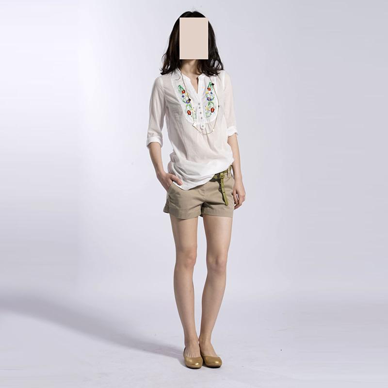 Женские брюки Нет-нет возвращает нет отдельной доставки: k70033 CC и наклонной карманы удобные короткие брюки Шорты, мини-шорты