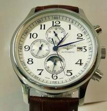 Longines automatic 6-pin male mechanical belt drive table confession