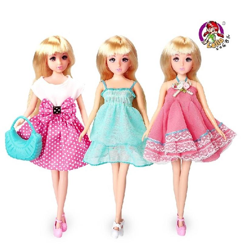 乐吉儿状况儿童中国芭比娃娃洋气女孩可爱怀孕百变玩具h39a服饰泰迪装扮46天玩具图片