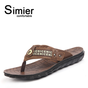 Simier Smeall clips drag toes Beach comfort leisure flip-flops in  summer A9557