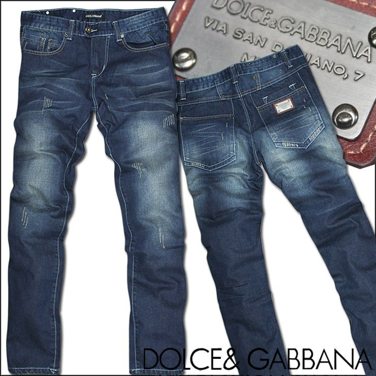 Джинсы мужские Dgtmall Dng2012 Облегающий покрой Классическая джинсовая ткань Европейский и американский стиль 2012