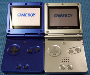 GBASP new handheld game consoles GAME BOY SP 2G memory support GBA movie send full game