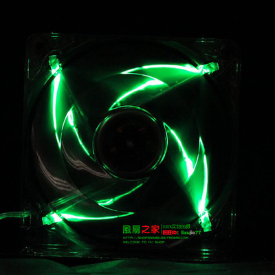 High-end chassis silent CPU fan 12025 12 cm 12CM super beautiful LED lights