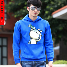 Pinot personality Korean couple sweater lovers 2013 new spring jacket hoodies