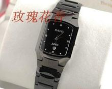 Special tungsten steel, tungsten steel watches, quartz watches, square table and never wear male