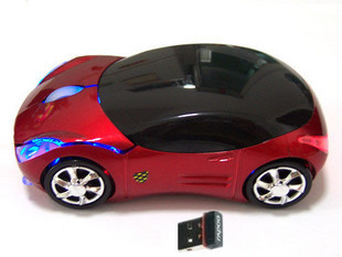 Ferrari sports car wireless mouse, wireless mouse Korean notebook mouse