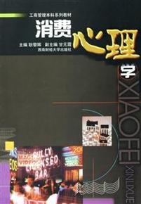 消费心理学(工商管理本科系列教材) 生活 耿黎辉 西南财大