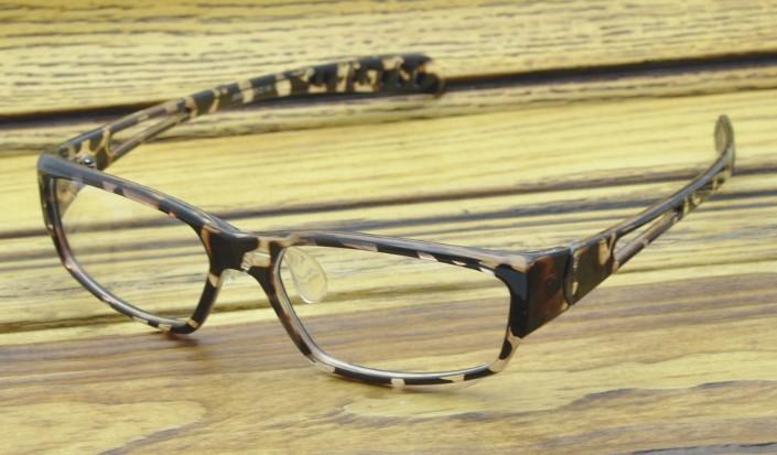 Оправа для очков Леопард с прокладки носа очки Фоторамки дамы Пластик с памятью формы