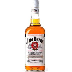 洋酒 美国原装进口 白占边波本威士忌 JIM BEAM特价 正品