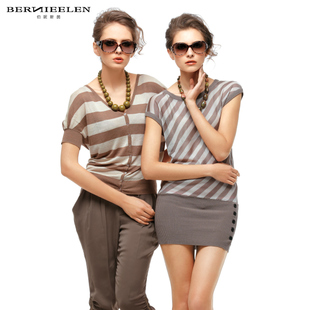 Bernice Mayweather Yan 81,013,112 wild small simple stripe shirt