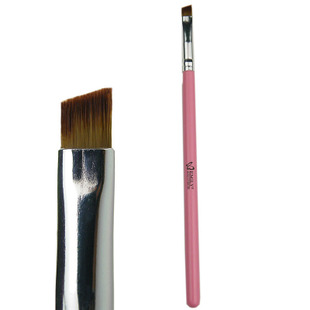 Recommend 6,170 makeup tools, makeup brush-EMILY beautiful says pink beveled brush brow brush. eye brush
