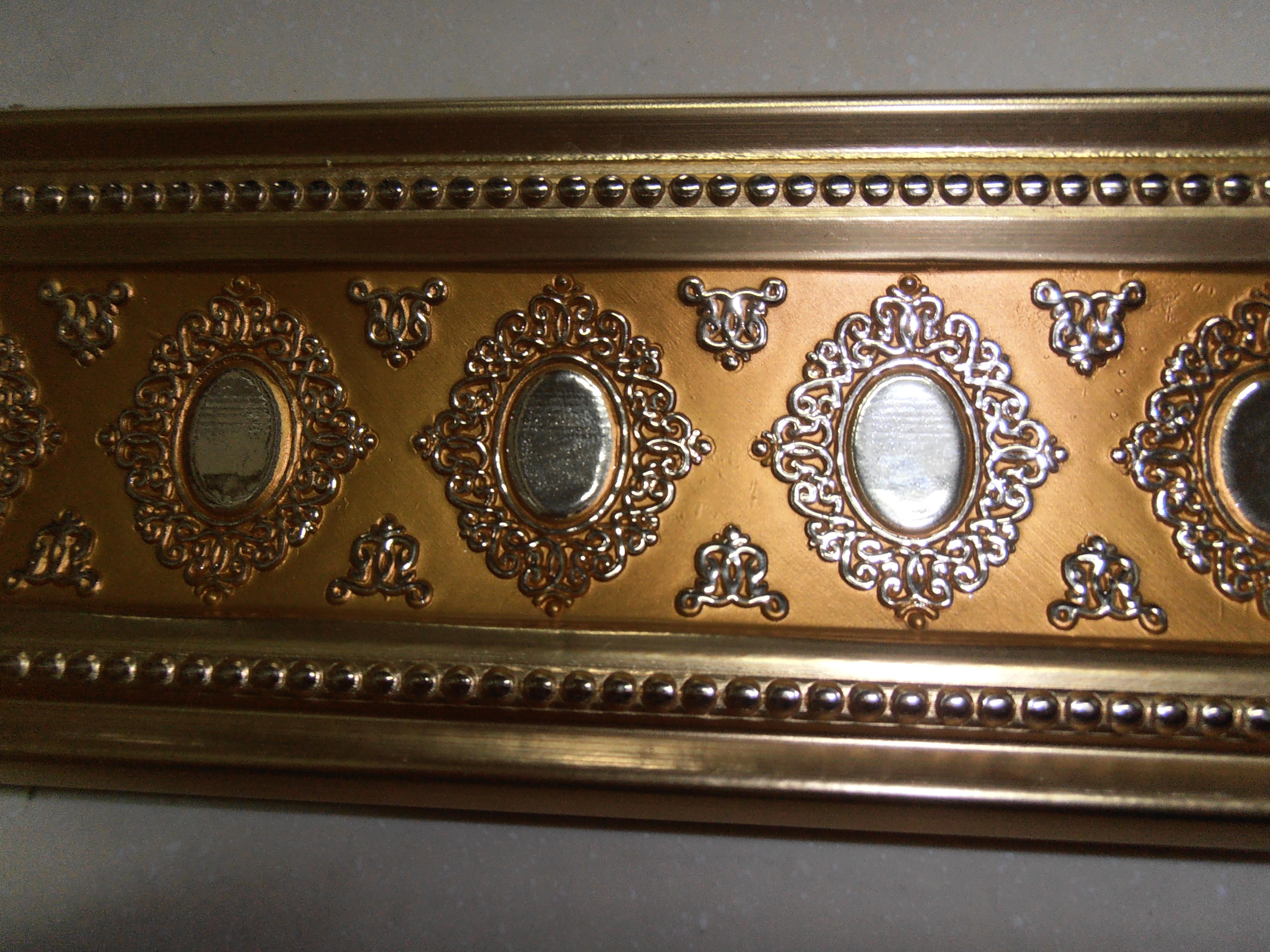 Бордюр декоративный 相框线条 镜框线 免漆线条  免漆顶角线条