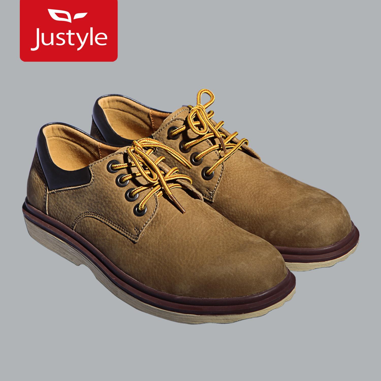 Демисезонные ботинки JUSTYLE 91121104 · Для отдыха Круглый носок Шнурок Зима