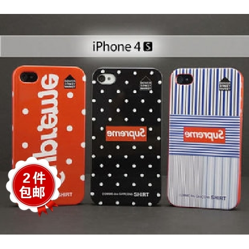Apple чехол Polka Dot Wind Supreme Comme Des Garcons Iphone 4S Polka Dot Wind Из пластика
