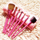 Authentic makeup brush brushes set Kit 7-piece makeup brush set brush/blush eye shadow brushes/brushes/Eyelash eyebrow comb
