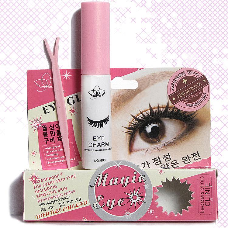 四季彩妆 粘假睫毛胶水 透明胶水 双眼皮胶水 美目胶水 防过敏