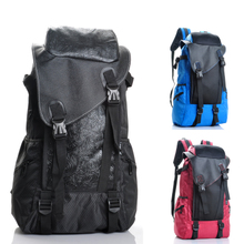 Men's shoulder bag waterproof bag outdoor travel mountaineering bags male Korean influx of computer backpack shoulder bag women