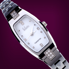 Every matter tuo authentic new lady tungsten steel delicate and cabinet Fashion personality fashion joker diamond watches
