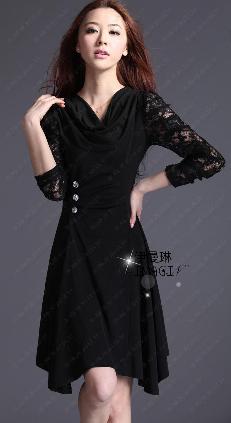 Женское платье 8819 Осень 2012 Кружево