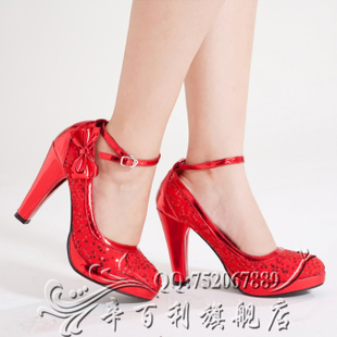 Spring/summer 2011 new style high platform shoes danxie super high heel Bridal Shoes Wedding Shoes sequins
