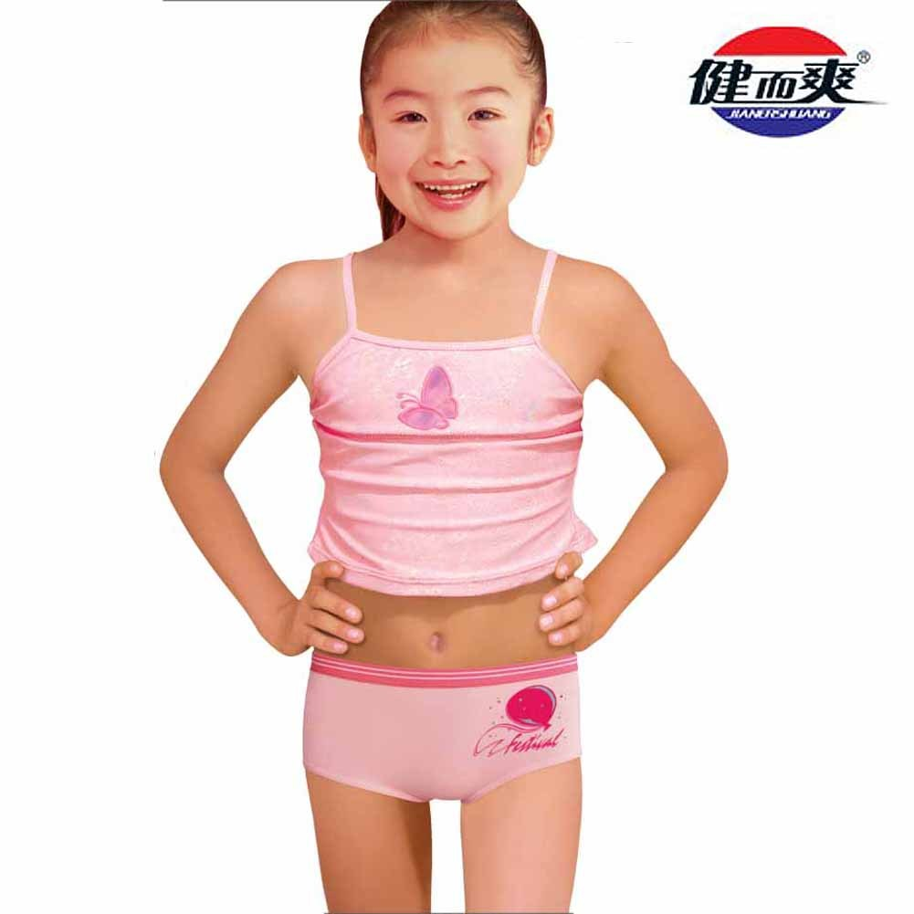 Baby girls' undershirts are available in a variety of styles, such as pullover, side snap, and bodysuit. Pullover undershirts wear like t-shirts. Side snap undershirts close along the side. Bodysuits, or onesies, are one-piece garments that typically snap at the crotch. All come in different sleeve lengths, colors, and patterns.
