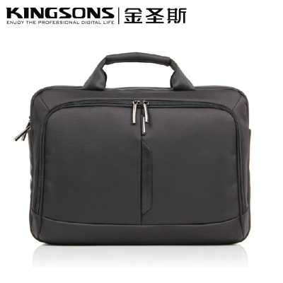Kingsons 14-inch business laptop bag laptop shoulder bag men and 15.6-inch laptop bag