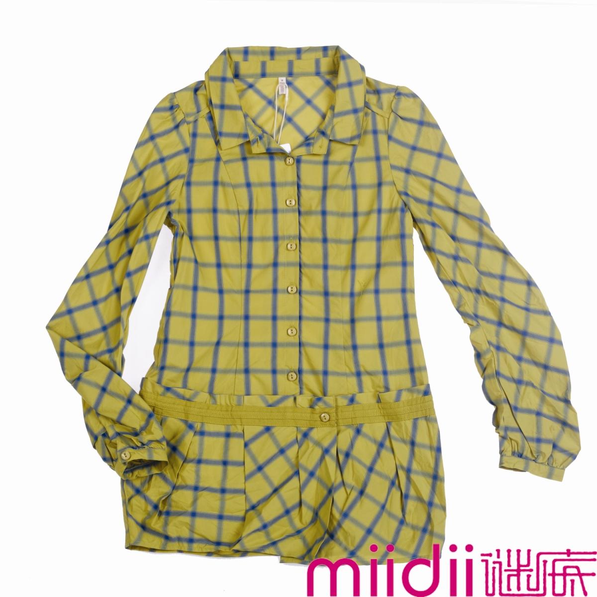 женская рубашка Answers 03mc1087 Оригинальный дизайн Длинный рукав Разный дизайн