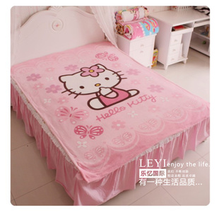 Special  coral carpet cartoon coral carpet child childrens blankets KT cat blanket wholesale