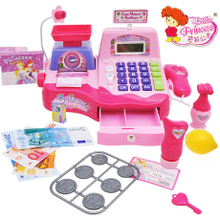 Cash register set and huishi day fancy girls play toys gifts, 3, 4 above the 5-6-7 - year - old powder