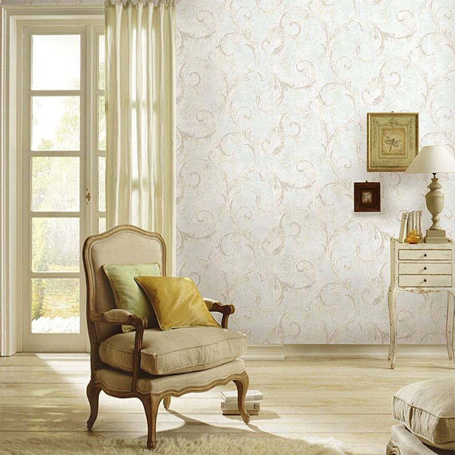 里斯戴尔风格客厅卧室无纺布墙纸 欧式复古美式乡村风格壁纸 特价图片