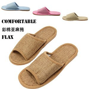 Golden Crown end of 2012  new cool in color linen slipper tendon couples home slipper 252g