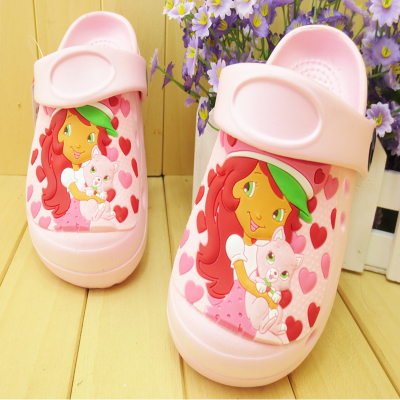 EVA garden shoes free shipping children, boys and girls have with slippers hole shoes baby shoes baby sandals